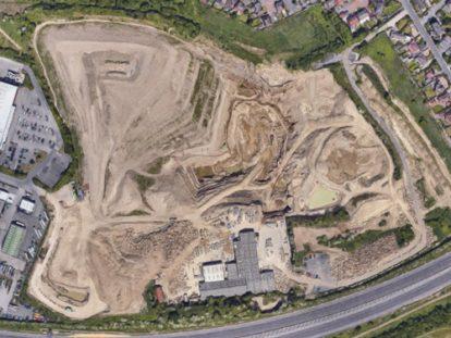 Britannia quarry banner