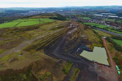 How to restore an existing quarry 1